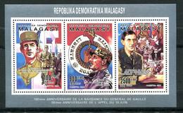 Thème Général De Gaulle - Madagascar - Yvert BF 987 à 989 - Neuf Xxx Dentelé - Lot 317 - De Gaulle (General)