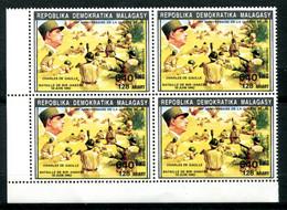 Thème Général De Gaulle - Madagascar - Yvert 1076 - Bloc De 4 BDF Neuf Xxx Dentelé - Lot 318 - De Gaulle (General)
