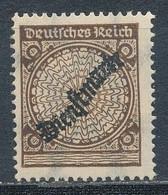 Deutsches Reich Dienstmarken 99 P A I ** Geprüft Schlegel Mi. 400,-  +++ Sehr Seltene Abart +++ - Dienstpost