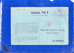 ##(DAN2101)-1943-Annullo Regio Sommergibile G.Mameli E Lineare R.Sommergibile Ascianghi  Su Cartolina  -submarine-U-boat - Military Mail (PM)