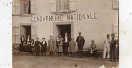 PONT DU CHATEAU GENDARMERIE NATIONALE (CARTE PHOTO ) - Pont Du Chateau