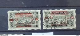 01 - 21 //  Grand Liban - N° 116 Variété Piastre Coupée + 1 Normal  - Lot 2 - Used Stamps