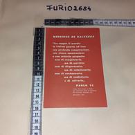C-96493 CAMALDOLI 58'' CONVEGNO NAZIONALE DI STUDIO UCIIM AGOSTO 1964 FRASE DI PAOLO VI - Andere Steden
