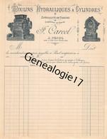 38 3098 PENOL ISERE COTE SAINT ANDRE  -VIERGE- Moulins Hydrauliques J. CARCEL A Cylindres H. G. ROSE De POISSY - 1900 – 1949