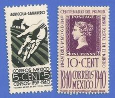 MEXIQUE 541 + 544 MEXICO 776 + 782 NEUFS ** - Mexico