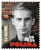 POLAND 2021 K. K. Baczynski  Polish Poet And Home Army Soldier Generation Of Columbuses MNH ** - Nuevos