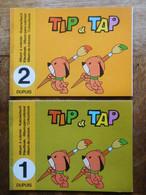 TIP & TAP Editions Dupuis 2 Albums à Colorier Années 1970 / N° 1 & 2 / Spirou - Zonder Classificatie