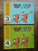 TIP & TAP Editions Dupuis 2 Albums à Colorier Années 1970 / N° 3 & 4 / Spirou - Zonder Classificatie