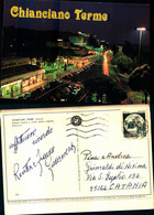 17254a)cartolina  Chianciano Terme Piazza Italian Viale Della Liberta - Andere Steden