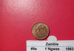Zambie 1 Ngwee 1983 KM9a - Zambia