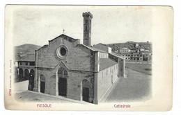 8615 -  FIESOLE FIRENZE CATTEDRALE 1910 CIRCA - Andere Steden