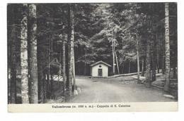 8616 -  VALLOMBROSA REGGELLO CAPPELLA DI S CATERINA FIRENZE 1935 - Andere Steden