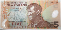 Nouvelle-Zélande - 5 Dollars - 2009 - PICK 185b.5 - NEUF - New Zealand