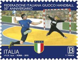 Italia - 2019 - Usato/used - Handball - 2011-...: Oblitérés