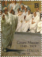 Italia - 2019 - Usato/used - Cesare Maccari - 2011-...: Afgestempeld