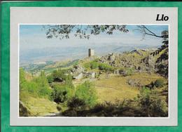 """Llo (66) Le Vieux Village 2scans 17-07-1989 Flamme De Font-Romeu """"C'est Formidable"""" - Other Municipalities"""