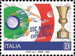 Italia - 2020 - Usato/used - Napoli - Coppa Italia 2020 - 2011-...: Afgestempeld