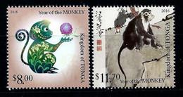 Tonga 2016: Year Of The Monkey ** MNH - Tonga (1970-...)