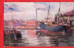 TUCK    MANCHESTER SERIES  MANCHESTER SHIP CANAL   DOCKS  Pu 1906 - Manchester