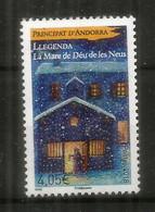 La Vierge Des Neiges (La Mare De Deùs De Les Neus) **  Haute Faciale Pour Lettre Recommandée. Année 2018 - Unused Stamps