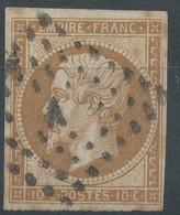 Lot N°59260  Variété/n°13A, Oblit Losange A De PARIS, Filet EST, Bonnes Marges - 1853-1860 Napoleon III