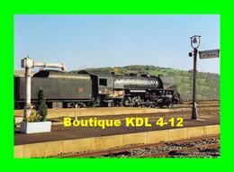 CITEV 2 - Loco 141 R 568 En Gare - CAPDENAC GARE - Aveyron - SNCF - Materiaal
