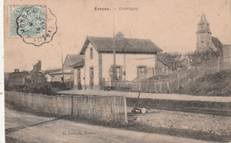 27 Gravigny. Vue De La Gare - Other Municipalities