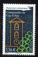 Andorre (postes Françaises), Les Cloches Du Nouvel An, 2020, MNH VF - Unused Stamps