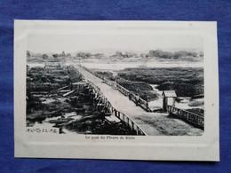 China Le Pont Du Fleuve De Kirin Postcard Cropped - China