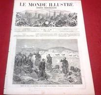 Le Monde Illustré N°108 Mai 1859 Napoléon III Campagne D'Italie Passage Mont Cenis,Troupes Françaises Turin - 1850 - 1899