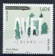 Andorre (postes Françaises), Le Sapin Blanc, 2020, MNH VF - Unused Stamps