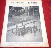 Le Monde Illustré N°2666 Mai 1908 Demoiselles Téléphone, Evènements Maroc,Plance Dessin Benjamin Rabier,Nijni Novgorod - Otros