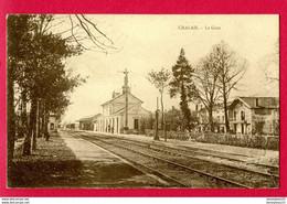 CPA (Réf : AA 276) CHALAIS (16 CHARENTE) La Gare - Autres Communes