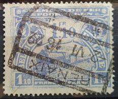 Belgien Eisenbahnpaketmarken 1915, Mi 72 RENAIX (Ronse) - 1915-1921