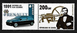 2002 R. De Guinée, OTTO+Otto Motor - RENAULT Clio, 1991 - Coches