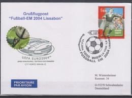 Soccer European Cup 2004 - Football - AUSTRIA - FDC Cover - Eurocopa (UEFA)