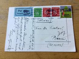 K15 Finnland 1942 Luftpostkarte Von Helsinki - Briefe U. Dokumente