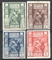 Libia 1924 Sass.40/43 **/MNH VF/F - Libië