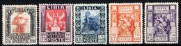 Libia 1931 Sass.103/07 **/MNH VF - Libië