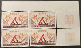 N° 2023 Neuf ** Gomme D'Origine, Bloc De 4  TTB - Unused Stamps