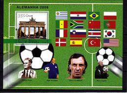 Soccer World Cup 2006 - Football - GUINEA BISSAU - S/S MNH - 2006 – Duitsland