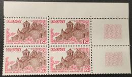 N° 2001 Neuf ** Gomme D'Origine, Bloc De 4  TTB - Unused Stamps