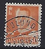 Denmark  1952-53 Frederik IX  (o) Mi.337 (cancelled SJOLUND) - Used Stamps