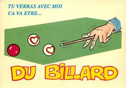Humour - Billard - Illustration - CPM - Carte Neuve - Voir Scans Recto-Verso - Humor
