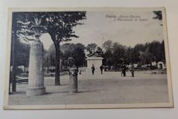 Pistoia Piazza Mazzini E Monumento Ai Caduti - Pistoia