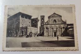 Pistoia Chiesa E Piazza Di S. Bartolomeo - Pistoia