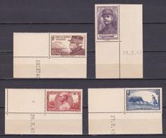 N° 454/457 NEUF** COTE 52€ / 2 SCANS - Verzamelingen