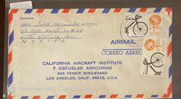 O) 1976 MEXICO, MEXICO EXPORTA BICYCLE, FROM TUXTLA TO USA - Mexico