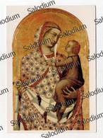 AREZZO - S. MARIA DELLA PIEVE - Pietro Lorenzetti - Madonna Gesù Bambino - Arezzo