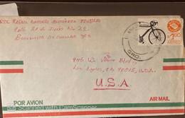 O) 1976 MEXICO, MEXICO EXPORTA BICYCLE, FROM BUENAVISTA  TO USA - Mexico